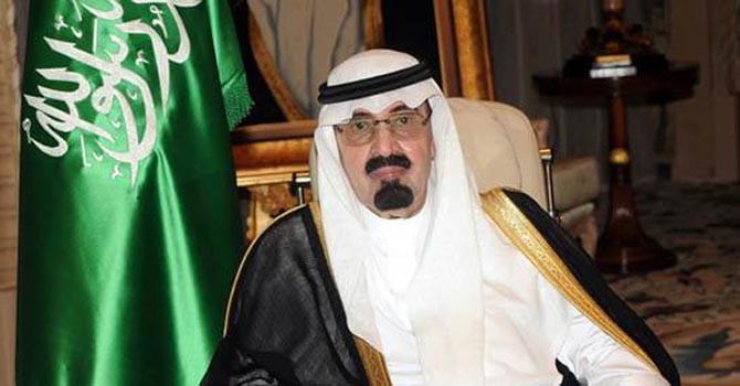 Saudi King Abdullah. - File Photo