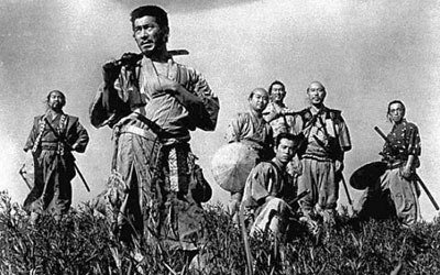 "The 1954 film ""Shichinin no Samurai"" (The Seven Samurai). —Photo (File) AP"