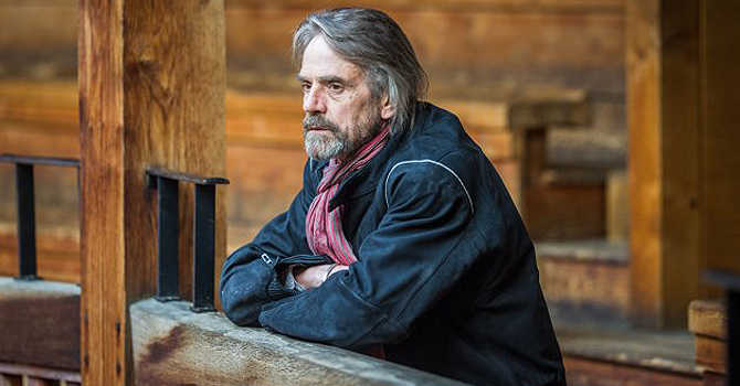 "This undated publicity image released by PBS shows Jeremy Irons, a host of ""Shakespeare Uncovered,"" an inventive series tracing the origins of six of the writer's plays through a combination of history, new analysis, and selected scenes. The series begins 9-11 p.m. EST Friday, Jan. 25, 2013. — AP Photo"