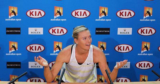 maria sharapova, sharapova, australian open, 2013 australian open