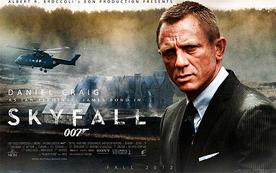 Skyfall poster. — File Photo