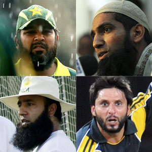 Inzimanul Haq, Muhammad Yusuf, Saeed Anwar and Shahid Afridi: The Tableeghi Jamat's poster boys?