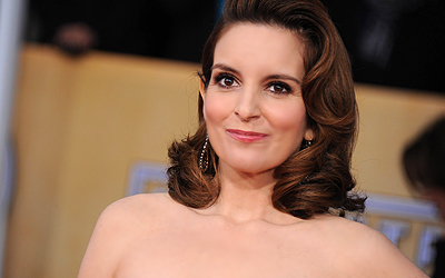 Tina Fey arrives at the 19th Annual Screen Actors Guild Awards at the Shrine Auditorium, LA.— AP Photo