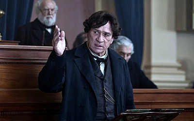 Actor Tommy Lee Jones in Lincoln movie screenshot. — File Photo
