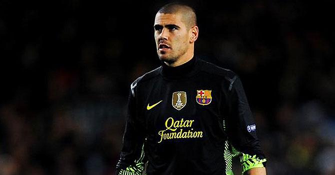 victor valdes, barcelona, la liga