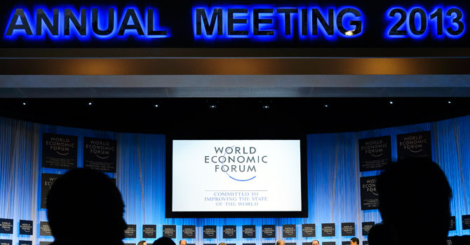 world economic forum, davos 2013