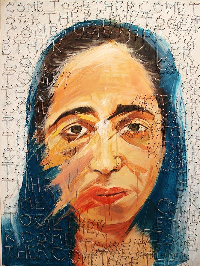 'Come Together' by Sahar Ghanchi, Sara Najam and Saba Iqbal.