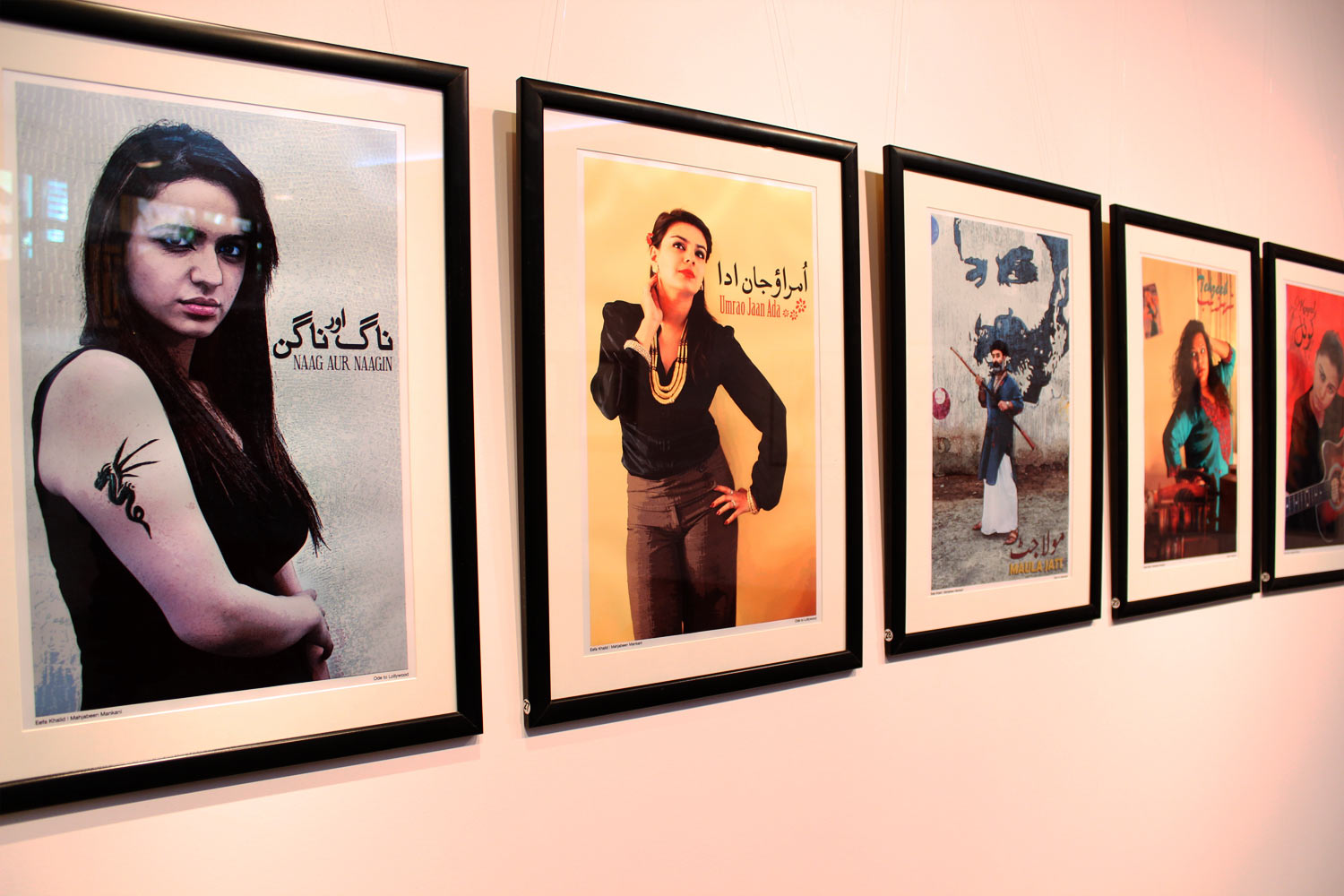 'Ode to Lollywood' by Eefa Khalid and Mahjabeen Mankani.