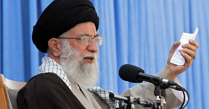 The all-powerful Khamenei has the final say on all key issues in the Islamic republic, including Iran's sensitive nuclear activities and foreign policy. - File Photo