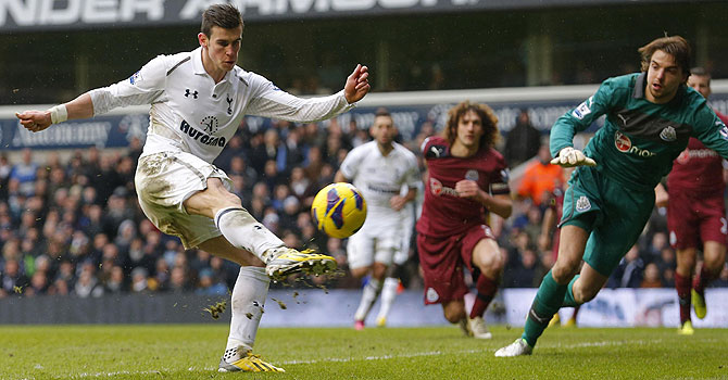 gareth bale, tottenham hotspurs, newcastle united, english premier league, epl