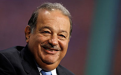 Mexican magnate Carlos Slim. —Photo (File) AP