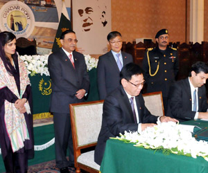 China given contract to operate Gwadar port
