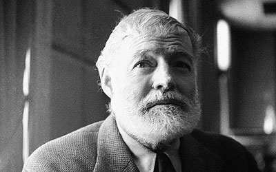 Ernest Hemingway. —Photo (File) AP