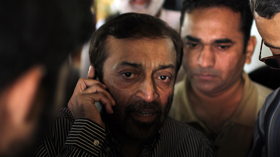 Farooq Sattar. -Photo by Saher Baloch/Dawn.com