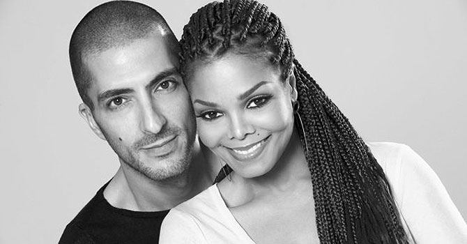 Janet Jackson with husband, Wissam Al Mana. —Photo (File) AP