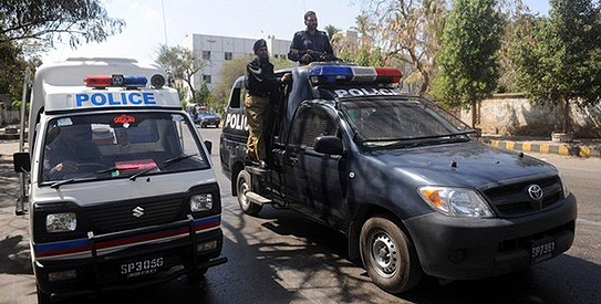 Man, son among nine gunned down in city