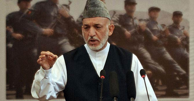Afghan President Hamid Karzai.—AFP (File Photo)