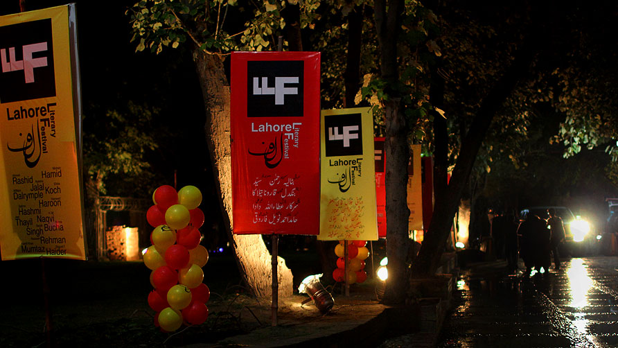 The first day of the Lahore Literary Festival wrapped up after packed sessions throughout the day.