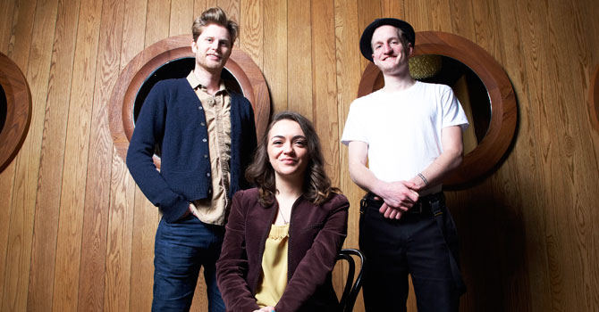 The Lumineers is nominated for two Grammy Awards this year. —Photo by AP