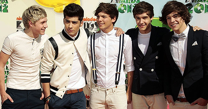 One Direction. —Photo (File) AP
