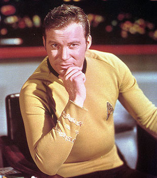 Captain James T Kirk in Star Trek: The Original Series. —Photo (File) AP