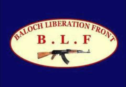 Flag of the Baloch Liberation Front (BLF) – a left-wing Baloch militant outfit that was one of the leading Baloch separatist guerrilla groups during the Balochistan insurgency in the 1970s.