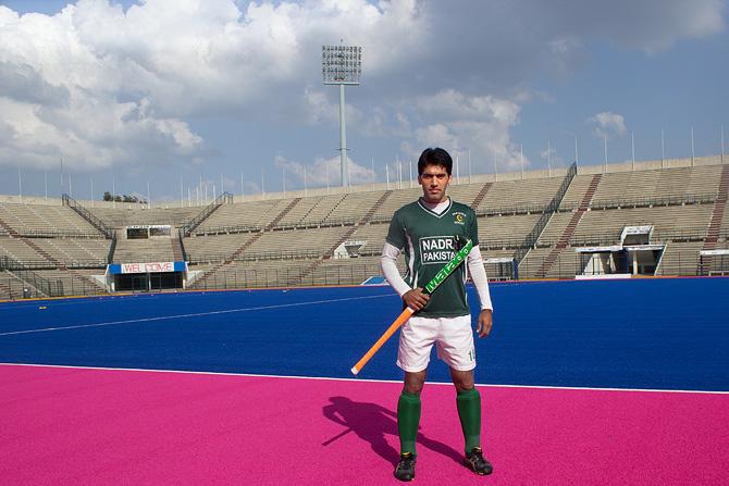 Pakistan's hockey squad at the 2013 Azlan Shah Cup