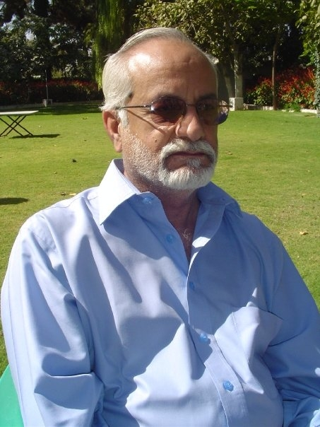Asad Rehman in 2012. He passed away in 2013.