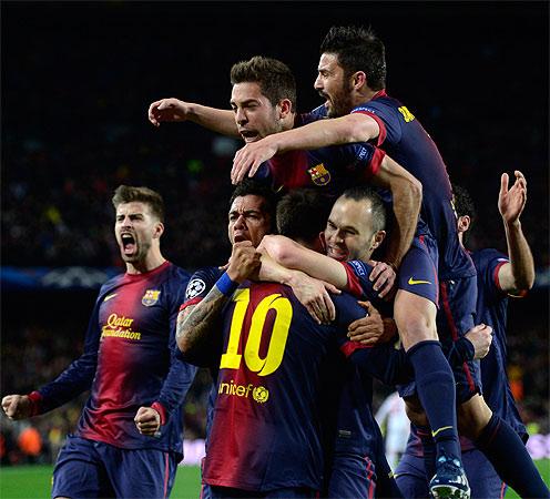 barcelona, ac milan, barcelona ac milan, champions league, messi, jordi alba, david villa, la liga, umaid wasim