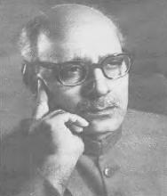 Ghulam Ahmed Parvez in 1962. It was during this period that he tried to advocate the saying of the Muslim prayers (namaaz) in Urdu instead of Arabic.