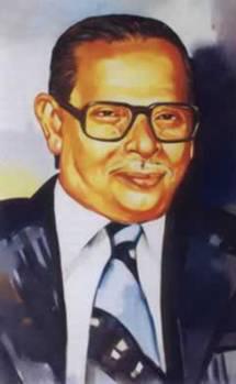 A 1935 portrait of Ghulam Ahmed Parvez.