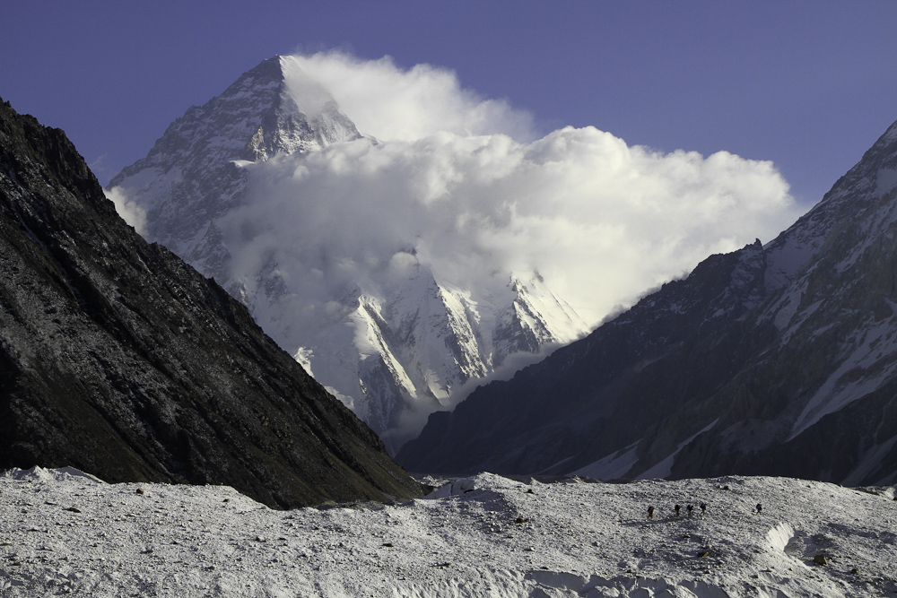 K2 - second highest mountain on earth