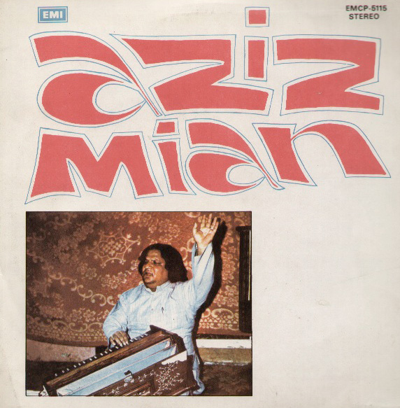 Cover of the first Aziz Mian album released in the United States in 1976.