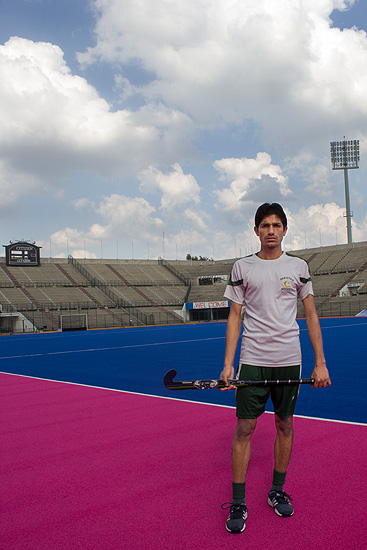 Name: Mohammad Irfan (junior) <br />Age: 19 <br />Birthplace: Kasur <br />Height: 5?9 <br />Weight: 61 kilograms <br />Playing since: 2009 <br />Pre-match ritual: Eating pasta <br />Favourite hockey player: Mohammad Arshad <br />Other sports : Cricket