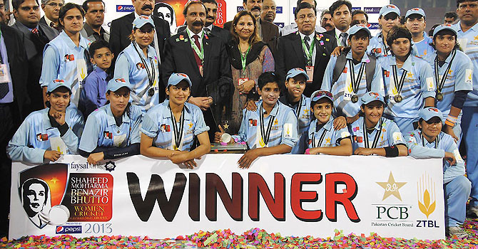 Breakthrough moment for Pakistan women's cricket