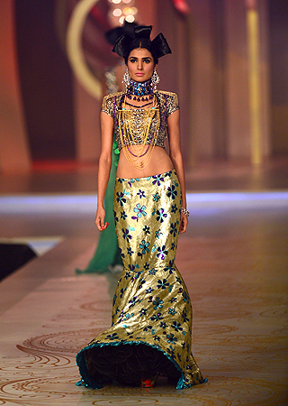 Designer: Nadia Mistry. — AFP Photo