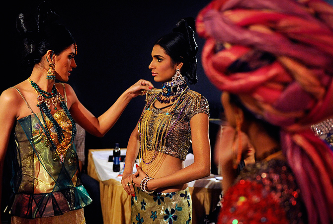 Designer: Nadia Mistry. — Reuters Photo