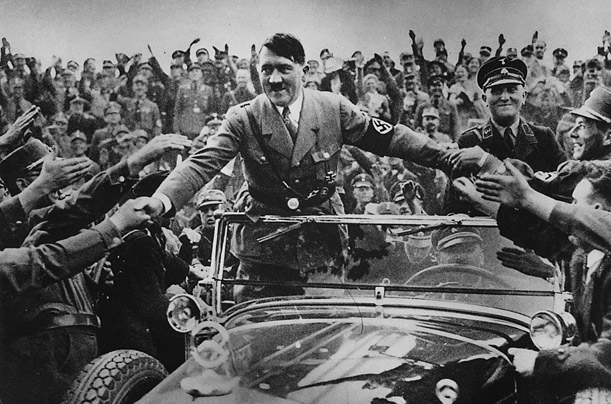 The rise of fascism and Hitler in Germany was celebrated and supported by large sections of the German middle and upper classes.