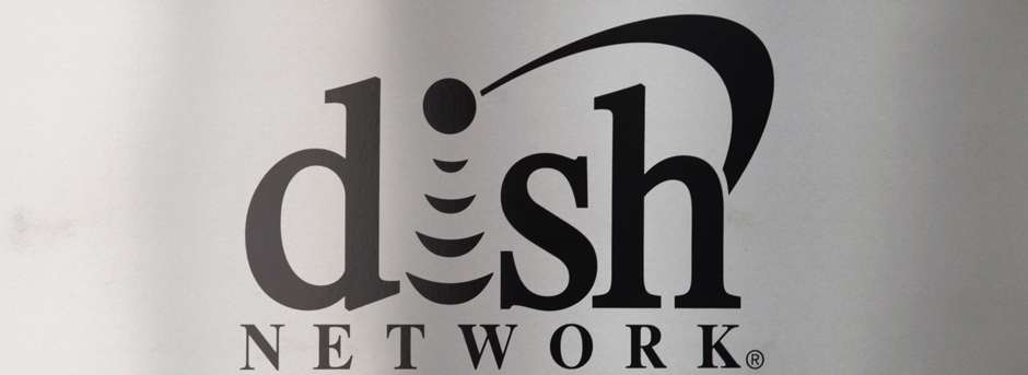 The sign in the lobby of the corporate headquarters of Dish Network is seen in the Denver suburb of Englewood, Colorado in this file photo taken April 6, 2011. Dish Network Corp, the No. 2 U.S. satellite television provider, offered to buy Sprint Nextel Corp for $25.5 billion in cash and stock, a move that could thwart the proposed acquisition of Sprint by Japan's SoftBank Corp.  REUTERS/Rick Wilking/Files  (UNITED STATES - Tags: BUSINESS TELECOMS)