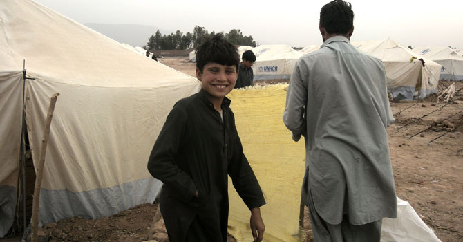 For Jalozai IDPs, returning home is a far-off dream