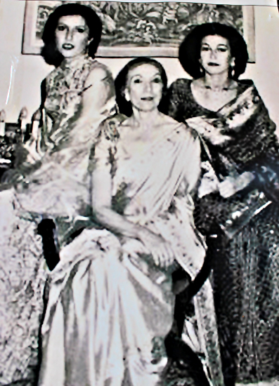 Benazir Bhutto, Nusrat Bhutto and Sanam Bhutto