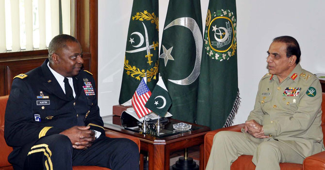 US Centcom chief departs after meetings with military leaders