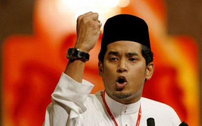 Khairy Jamaluddin, Malaysian MP for Rembau and the head of UMNO Youth. —Photo (File) AFP