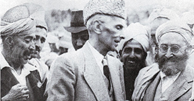 Quaid-i-Azam paid a visit to Khyber's tribesmen in 1948. —File Photo