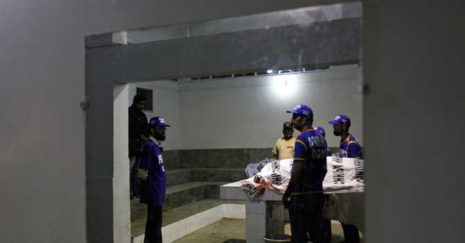Blast near Karachi checkpost kills four Rangers personnel