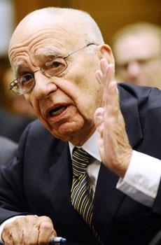 News Corporation Chairman and CEO Rupert Murdoch. —Photo by AFP
