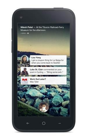 "A screenshot of the new Facebook app is seen on an Android smartphone in this handout photo released April 4, 2013.  Facebook Inc unveiled ""Home"" software on Thursday to place the world's social network front and center on Android users' smartphones, a move that may divert users from Google Inc services and steal some of its rival's momentum in the fast-growing mobile arena. REUTERS/Facebook/Handout  (UNITED STATES - Tags: BUSINESS SCIENCE TECHNOLOGY TELECOMS) NO SALES. NO ARCHIVES. FOR EDITORIAL USE ONLY. NOT FOR"