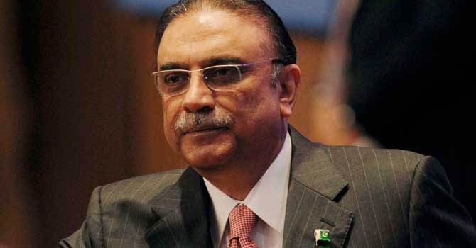 President Asif Ali Zardari.—File Photo