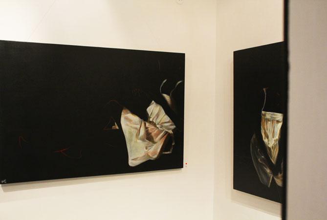 """""""Indulgence"""" by artist Annem Zaidi."""