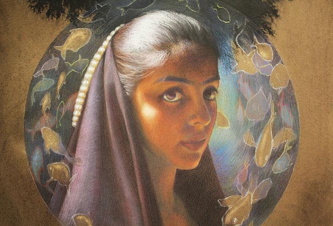 """""""Ave"""" by artist Dua Abbas."""